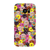 Donuts Invasion Smartphone Case-Gooten-Samsung S7 Edge-| All-Over-Print Everywhere - Designed to Make You Smile
