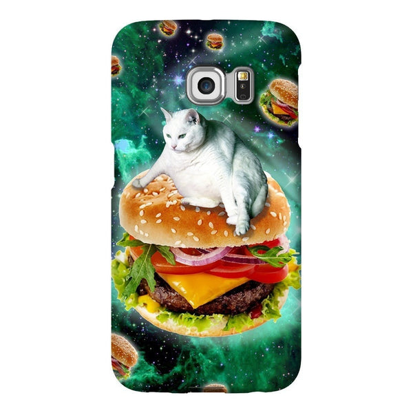 Hamburger Cat Smartphone Case-Gooten-Samsung Galaxy S6 Edge-| All-Over-Print Everywhere - Designed to Make You Smile