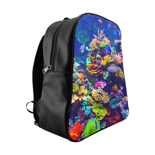 Aquarium Backpack-Printify-Large-| All-Over-Print Everywhere - Designed to Make You Smile