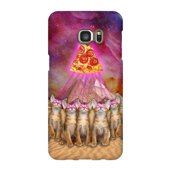 The Great Pyramid of Pizza Smartphone Case-Gooten-Samsung S6 Edge Plus-| All-Over-Print Everywhere - Designed to Make You Smile