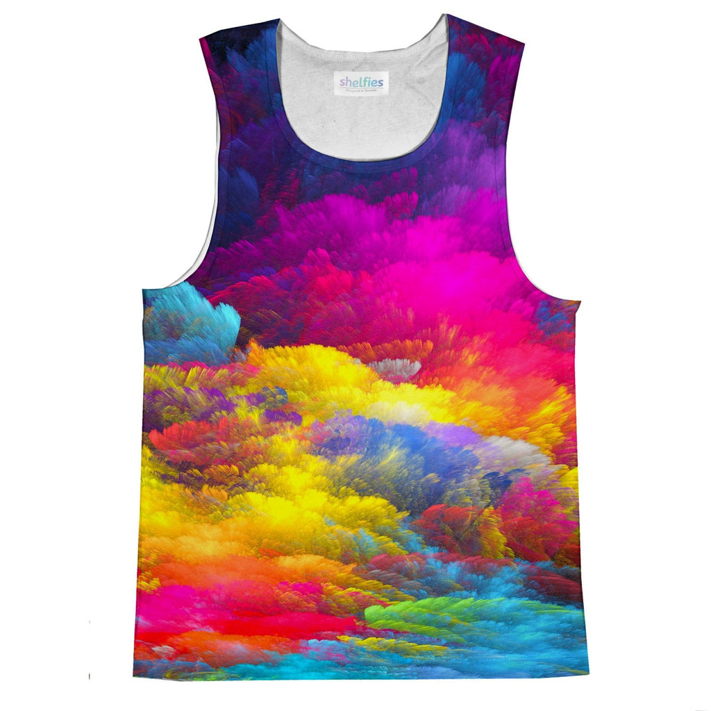 Abstract Colors Tank Top-kite.ly-| All-Over-Print Everywhere - Designed to Make You Smile