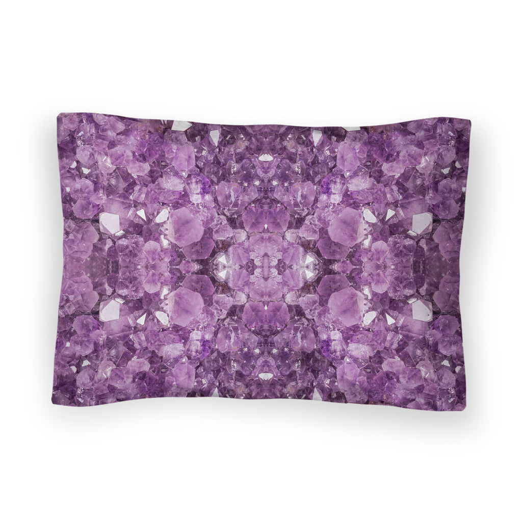 Amethyst Bed Pillow Case-Shelfies-| All-Over-Print Everywhere - Designed to Make You Smile