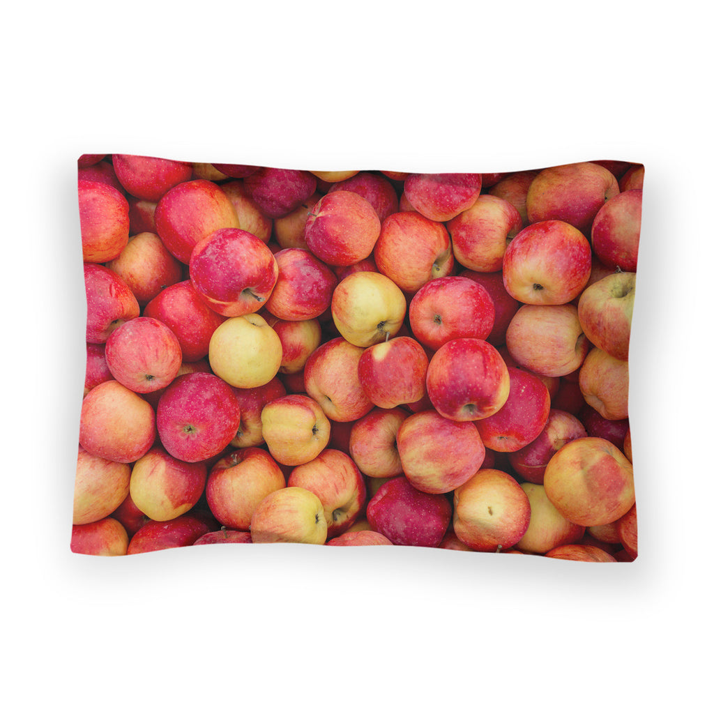 Apple Invasion Bed Pillow Case-Shelfies-| All-Over-Print Everywhere - Designed to Make You Smile