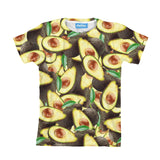 Avocado Invasion Youth T-Shirt-kite.ly-| All-Over-Print Everywhere - Designed to Make You Smile