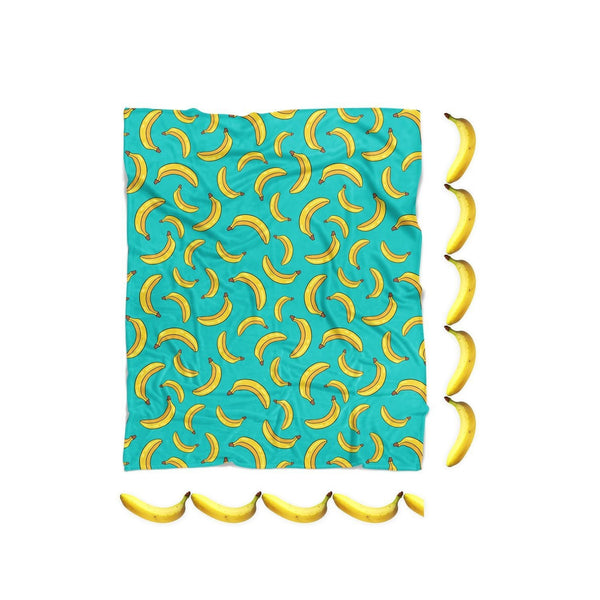Banana Life Blanket-Gooten-| All-Over-Print Everywhere - Designed to Make You Smile