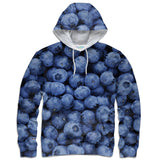 Blueberry Invasion Hoodie-Subliminator-| All-Over-Print Everywhere - Designed to Make You Smile
