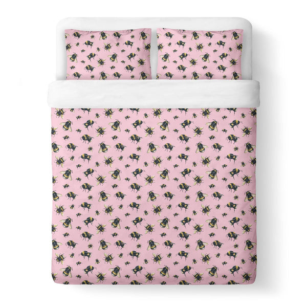 Buzzin Duvet Cover-Gooten-King-| All-Over-Print Everywhere - Designed to Make You Smile