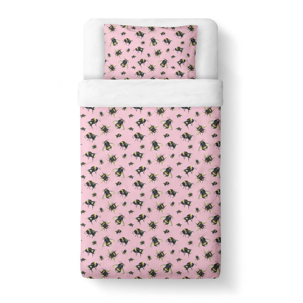 Buzzin Duvet Cover-Gooten-Twin-| All-Over-Print Everywhere - Designed to Make You Smile