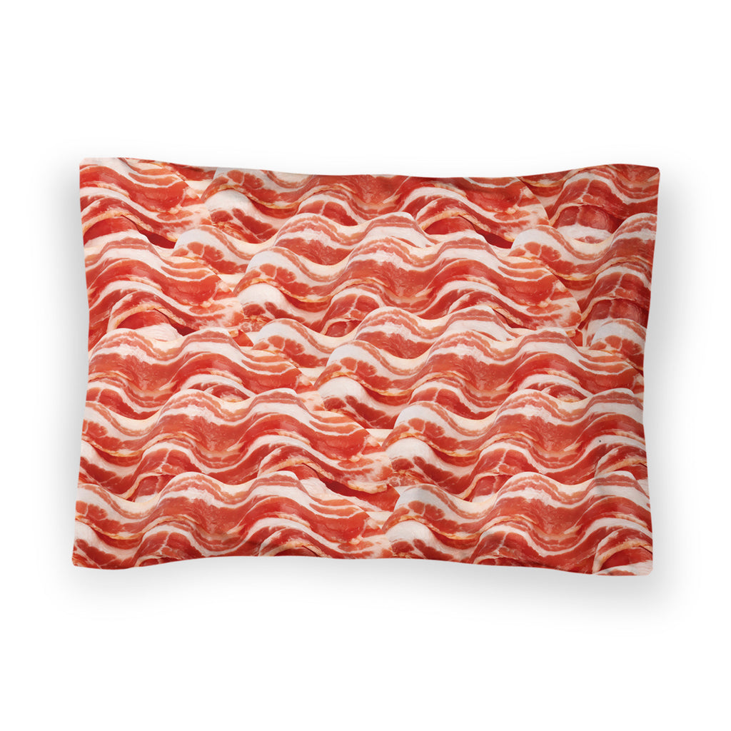Bacon Invasion Bed Pillow Case-Shelfies-| All-Over-Print Everywhere - Designed to Make You Smile