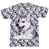 Bad Joke Husky T-Shirt-Subliminator-| All-Over-Print Everywhere - Designed to Make You Smile