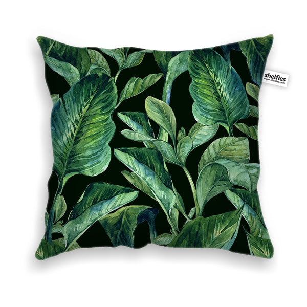 Banana Leaves Throw Pillow Case-Shelfies-| All-Over-Print Everywhere - Designed to Make You Smile