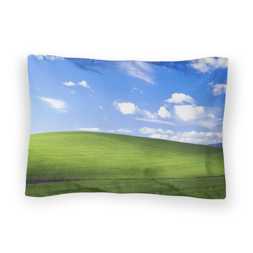 Bliss Screensaver Bed Pillow Case-Shelfies-| All-Over-Print Everywhere - Designed to Make You Smile
