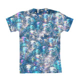 Bubbles Invasion Youth T-Shirt-kite.ly-| All-Over-Print Everywhere - Designed to Make You Smile