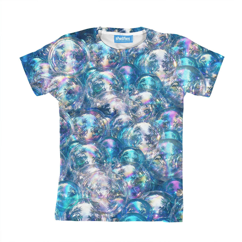 Bubbles Invasion Youth T-Shirt-kite.ly-3-4 Years-| All-Over-Print Everywhere - Designed to Make You Smile