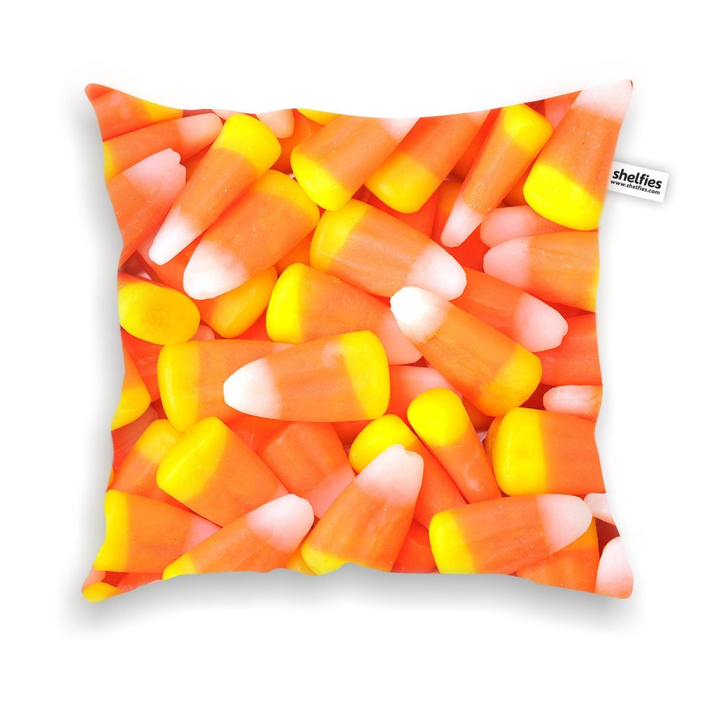 Candy Corn Invasion Throw Pillow Case-Shelfies-| All-Over-Print Everywhere - Designed to Make You Smile