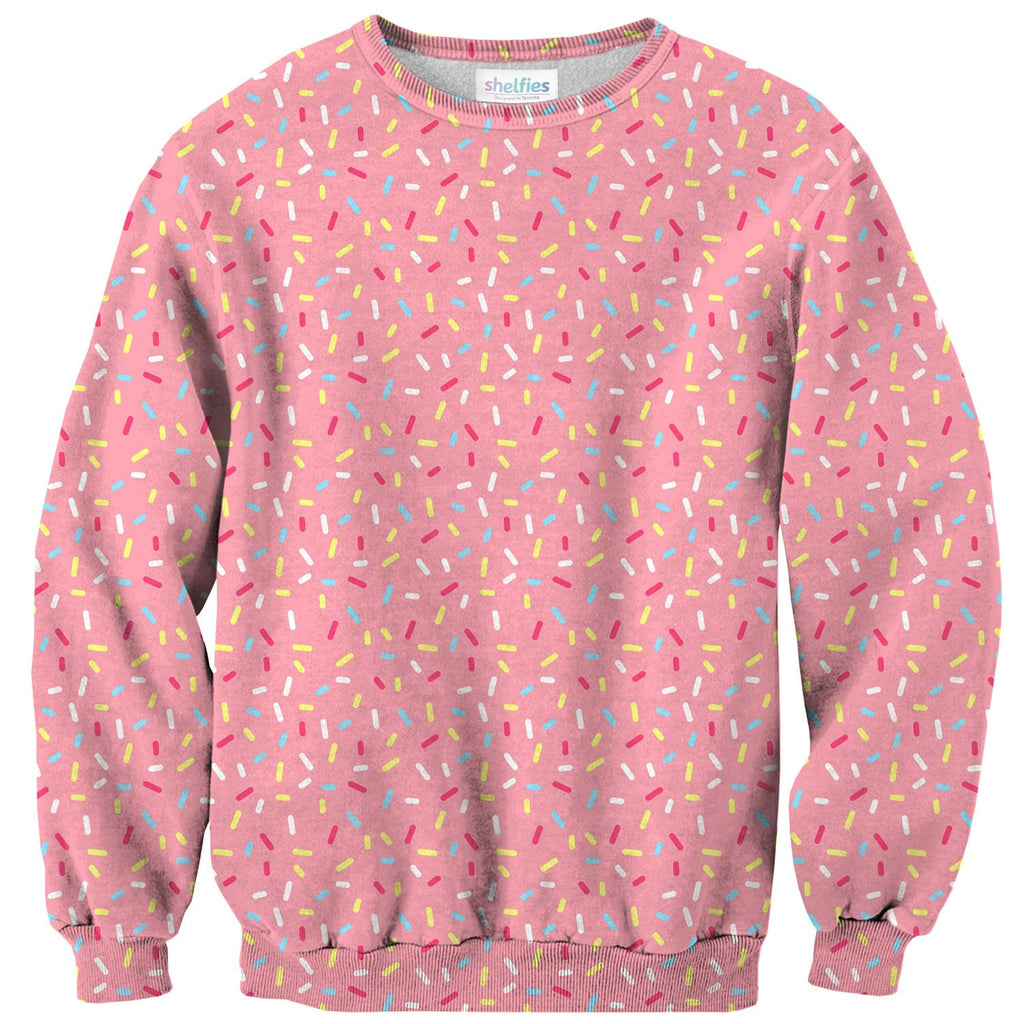 Cartoon Sprinkles Sweater-Shelfies-| All-Over-Print Everywhere - Designed to Make You Smile