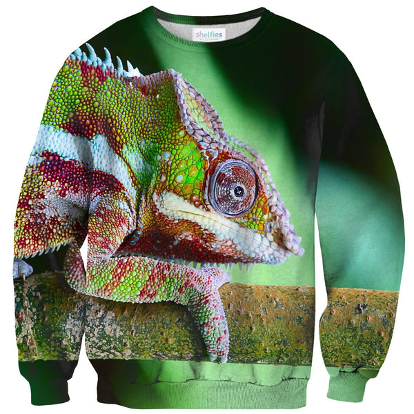 Chameleon Sweater-Shelfies-| All-Over-Print Everywhere - Designed to Make You Smile