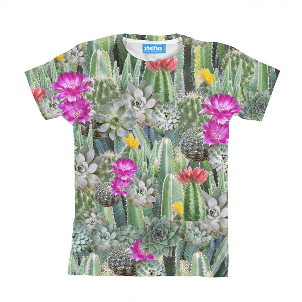 Cacti Invasion Youth T-Shirt-kite.ly-3-4 Years-| All-Over-Print Everywhere - Designed to Make You Smile