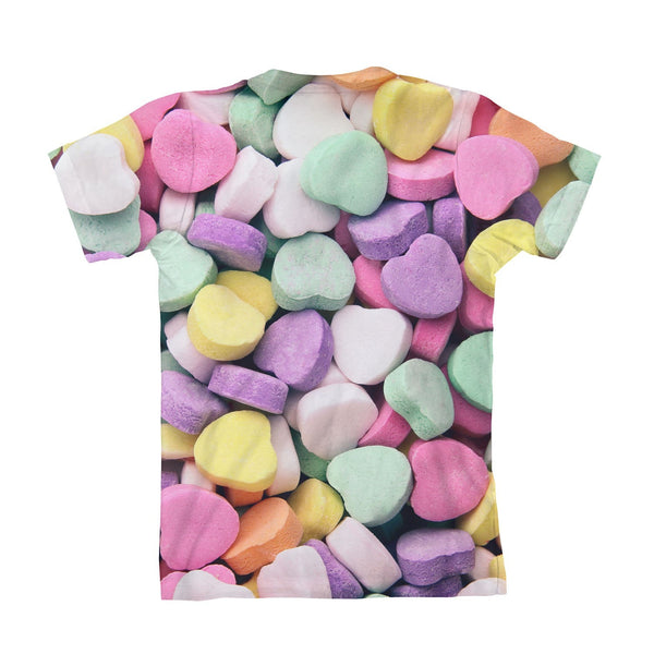 Candy Heart Invasion Youth T-Shirt-kite.ly-3-4 Years-| All-Over-Print Everywhere - Designed to Make You Smile