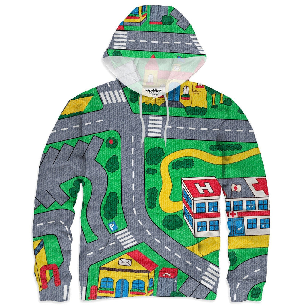 Carpet Track Hoodie-Subliminator-| All-Over-Print Everywhere - Designed to Make You Smile