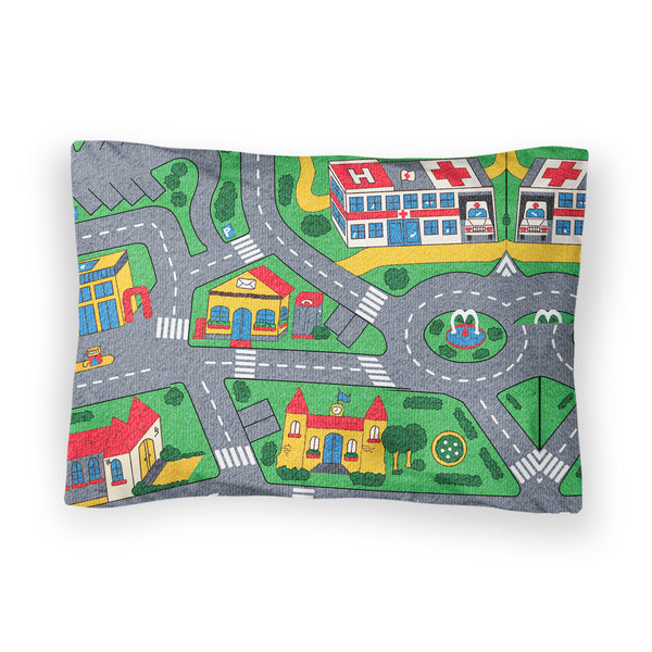 Carpet Track Bed Pillow Case-Shelfies-| All-Over-Print Everywhere - Designed to Make You Smile