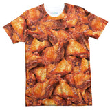 Chicken Wings Invasion T-Shirt-Subliminator-| All-Over-Print Everywhere - Designed to Make You Smile