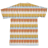 Corndog Stripes T-Shirt-kite.ly-| All-Over-Print Everywhere - Designed to Make You Smile