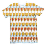 Corndog Stripes T-Shirt-Shelfies-| All-Over-Print Everywhere - Designed to Make You Smile