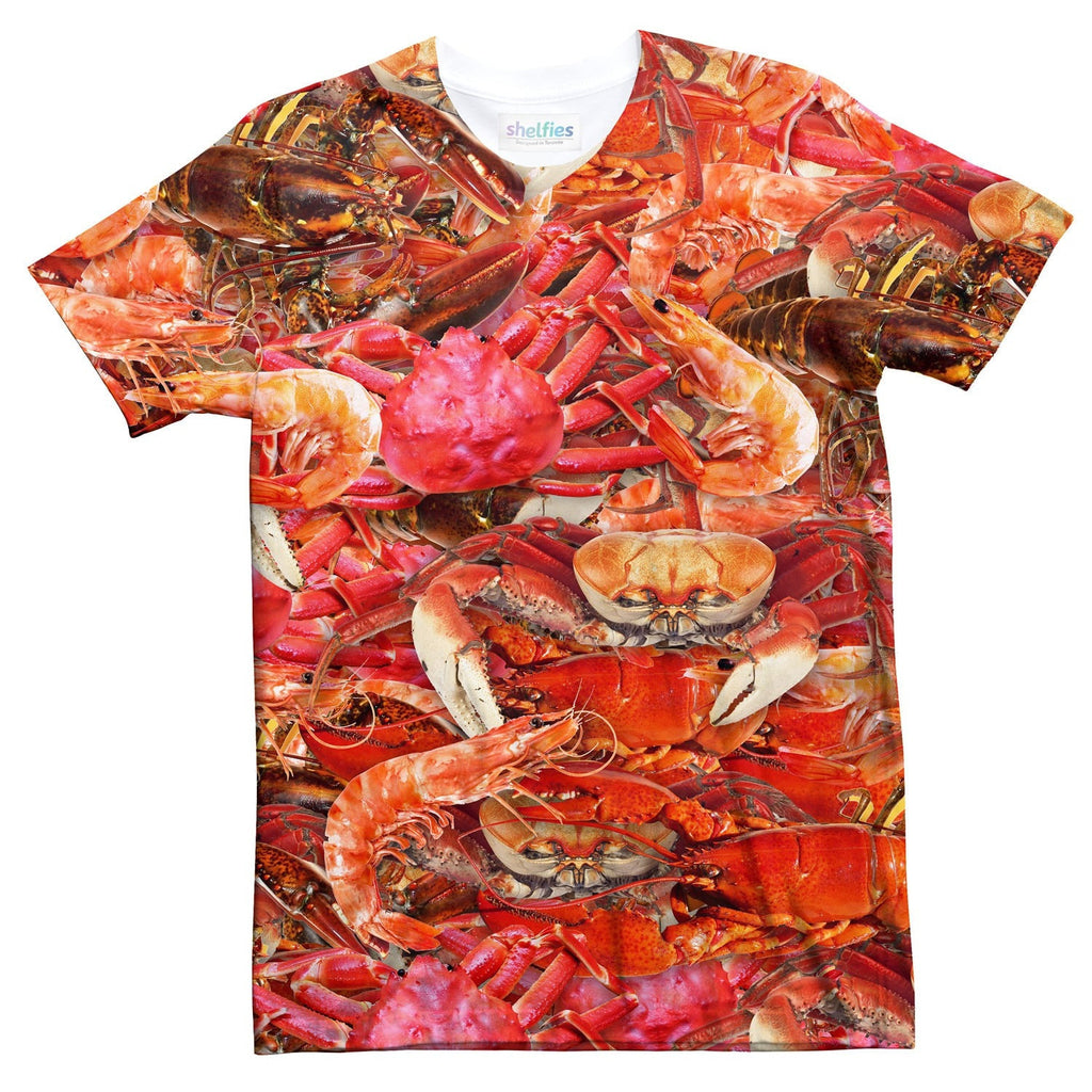 Crustacean Invasion T-Shirt-kite.ly-| All-Over-Print Everywhere - Designed to Make You Smile