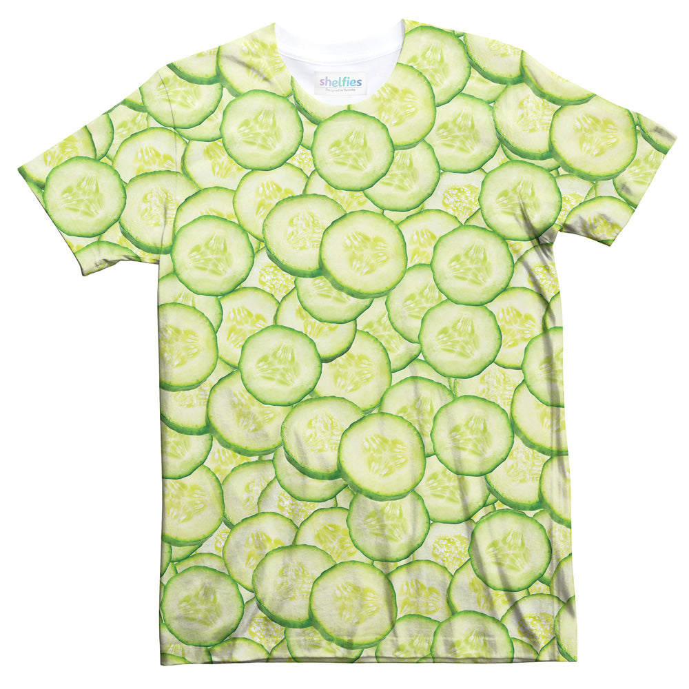 Cucumber Invasion T-Shirt-Subliminator-| All-Over-Print Everywhere - Designed to Make You Smile