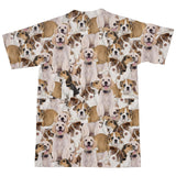 Doggy Invasion T-Shirt-Shelfies-| All-Over-Print Everywhere - Designed to Make You Smile