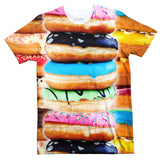 Donut Invasion T-Shirt-Subliminator-| All-Over-Print Everywhere - Designed to Make You Smile