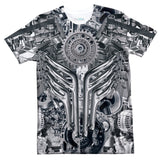 Engine T-Shirt-Shelfies-| All-Over-Print Everywhere - Designed to Make You Smile