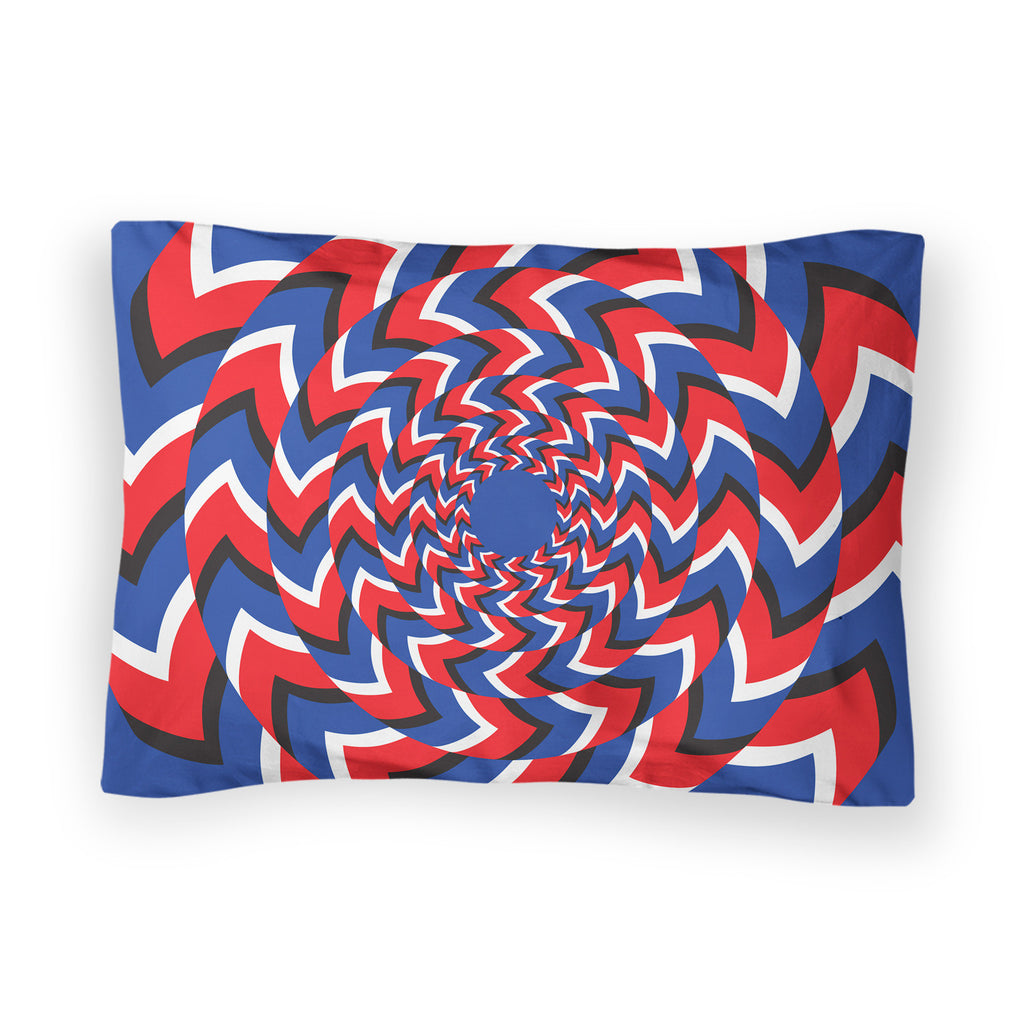 Eye Trick Bed Pillow Case-Shelfies-| All-Over-Print Everywhere - Designed to Make You Smile
