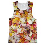 Fall Leaves Tank Top-kite.ly-| All-Over-Print Everywhere - Designed to Make You Smile