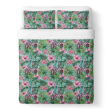 Floral Duvet Cover-Gooten-King-| All-Over-Print Everywhere - Designed to Make You Smile