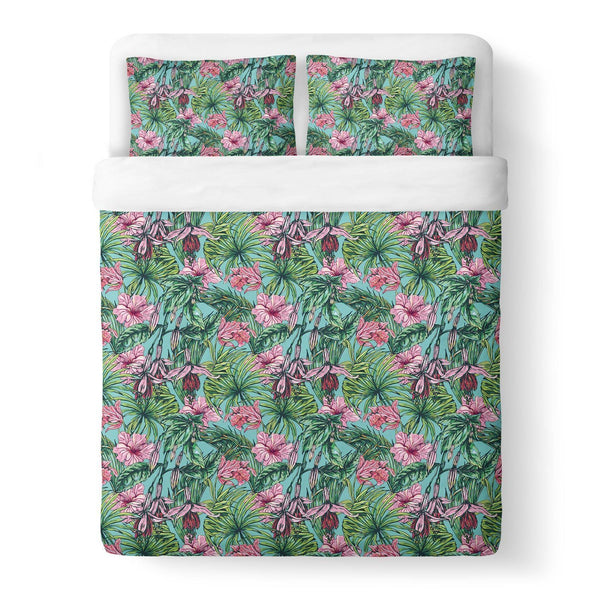 Floral Duvet Cover-Gooten-Queen-| All-Over-Print Everywhere - Designed to Make You Smile