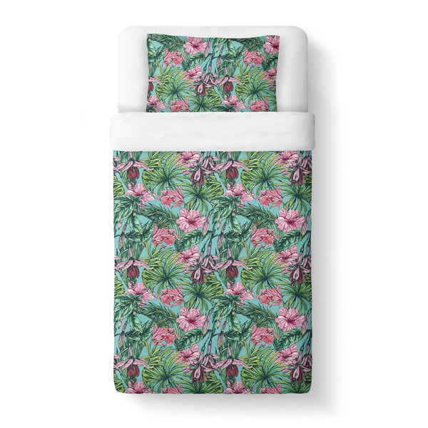 Floral Duvet Cover-Gooten-Twin-| All-Over-Print Everywhere - Designed to Make You Smile