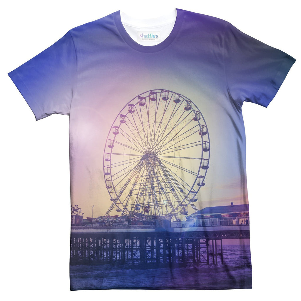 Ferris Wheel T-Shirt-kite.ly-| All-Over-Print Everywhere - Designed to Make You Smile
