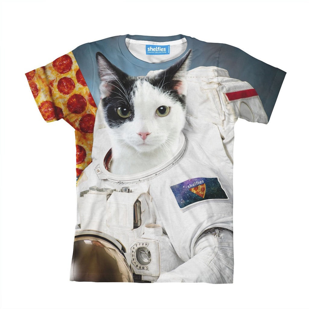 First Cat On The Moon Youth T-Shirt