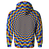 Fractal Pulse Hoodie-Subliminator-| All-Over-Print Everywhere - Designed to Make You Smile
