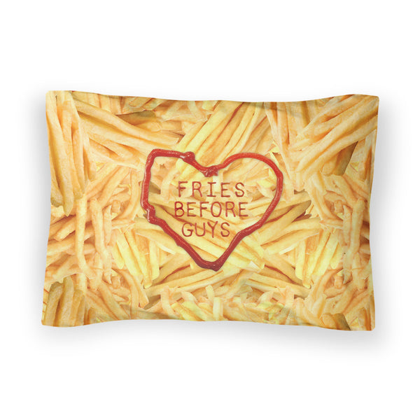 Fries Before Guys Bed Pillow Case-Shelfies-| All-Over-Print Everywhere - Designed to Make You Smile