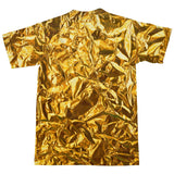 Golden Wrapper T-Shirt-Subliminator-| All-Over-Print Everywhere - Designed to Make You Smile