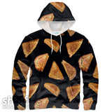 Grilled Cheese Hoodie-Subliminator-| All-Over-Print Everywhere - Designed to Make You Smile