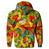 Gummy Bear Invasion Hoodie-Subliminator-| All-Over-Print Everywhere - Designed to Make You Smile
