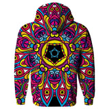 Hippie Hoodie-Shelfies-| All-Over-Print Everywhere - Designed to Make You Smile