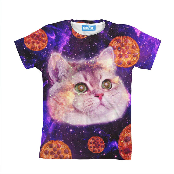Heavy Breathing Cat Youth T-Shirt-kite.ly-| All-Over-Print Everywhere - Designed to Make You Smile
