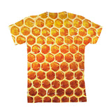Honeycomb Youth T-Shirt-kite.ly-3-4 Years-| All-Over-Print Everywhere - Designed to Make You Smile