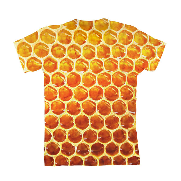 Honeycomb Youth T-Shirt-kite.ly-| All-Over-Print Everywhere - Designed to Make You Smile
