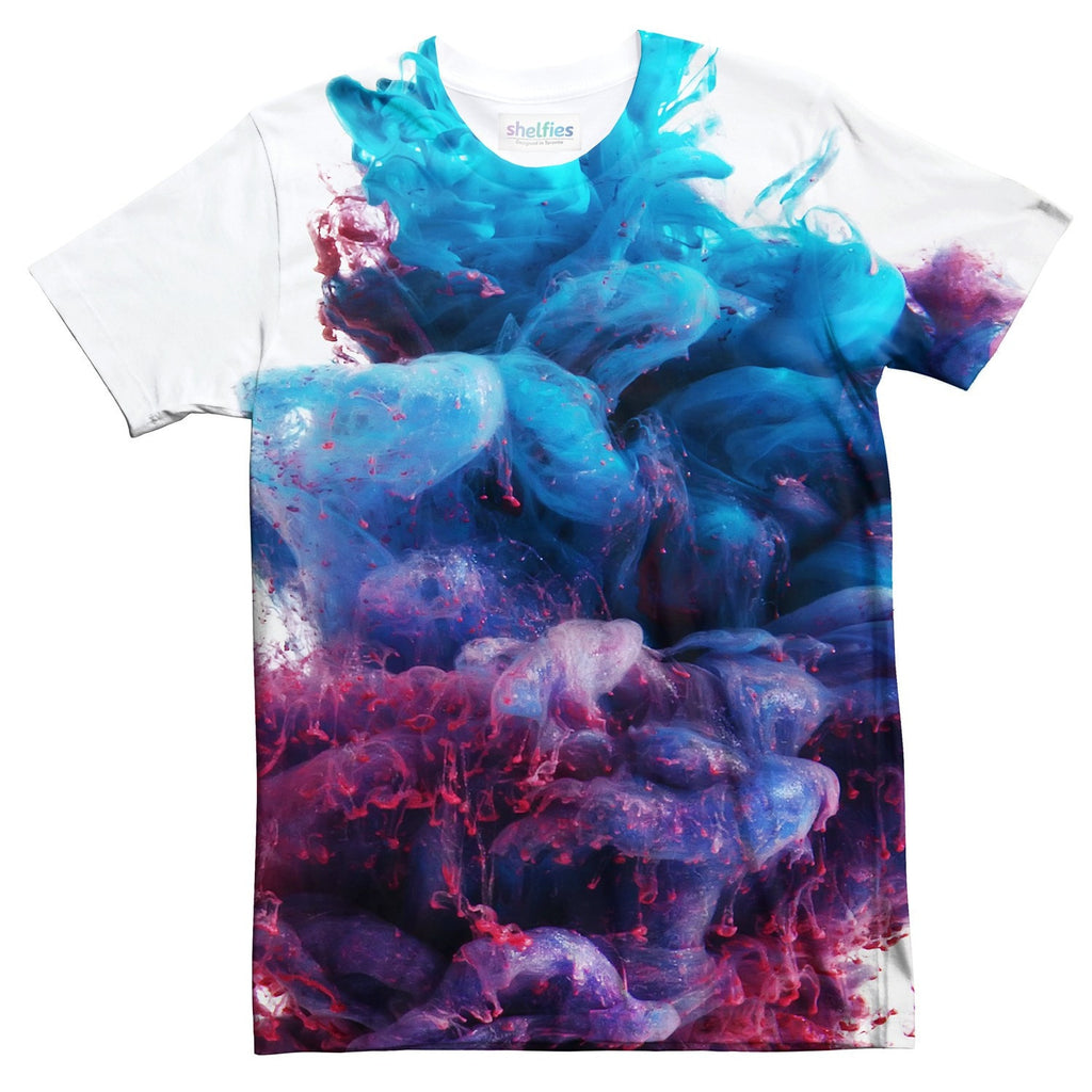 Ink Clouds T-Shirt-Shelfies-| All-Over-Print Everywhere - Designed to Make You Smile